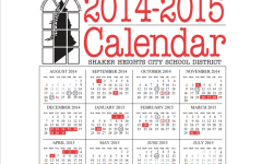 2014-2015 Calendar Shortens Spring Break, Makes Other Changes to School Year